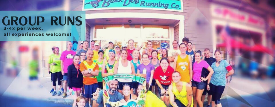 Group runs at Black Dog Running Company
